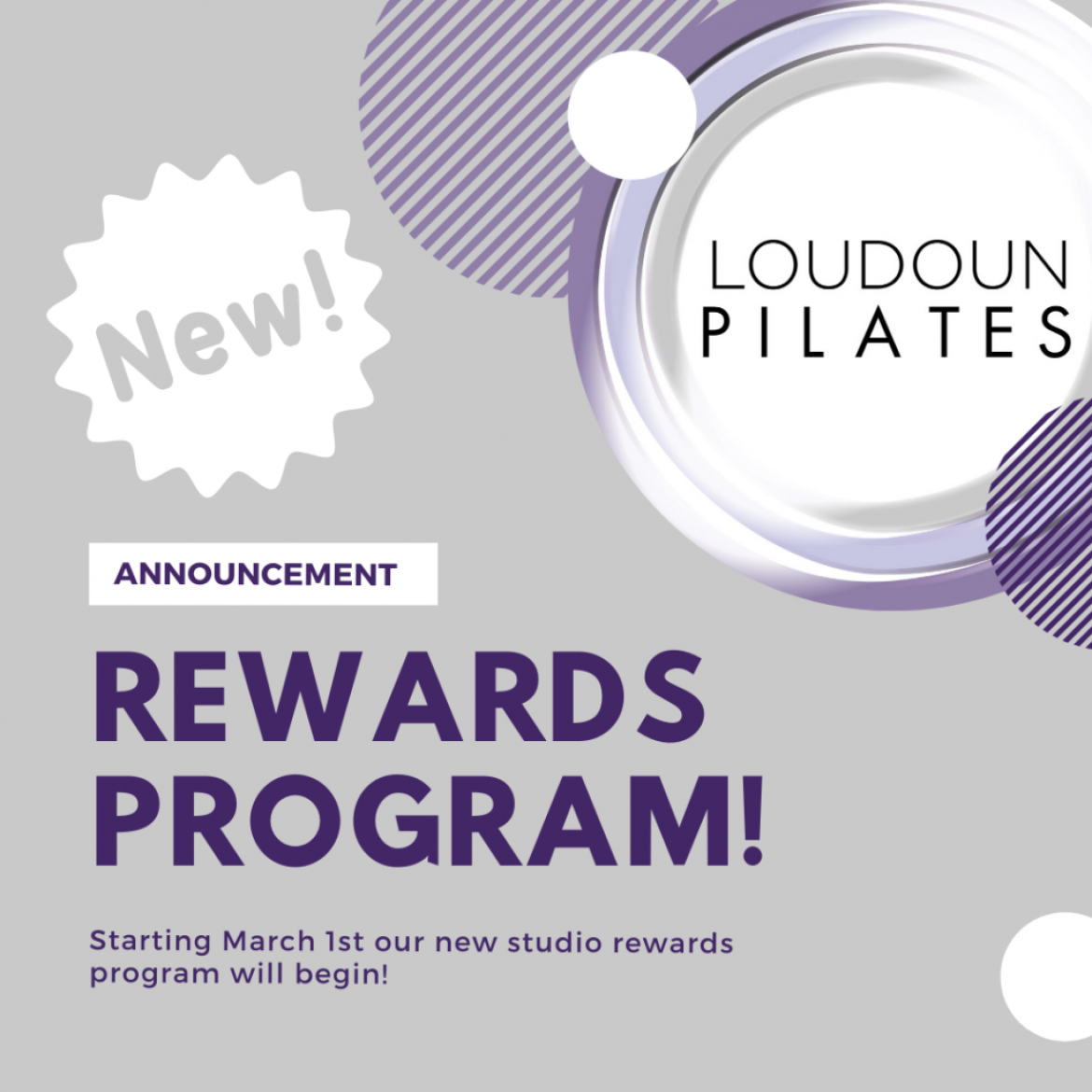 Studio Rewards Program