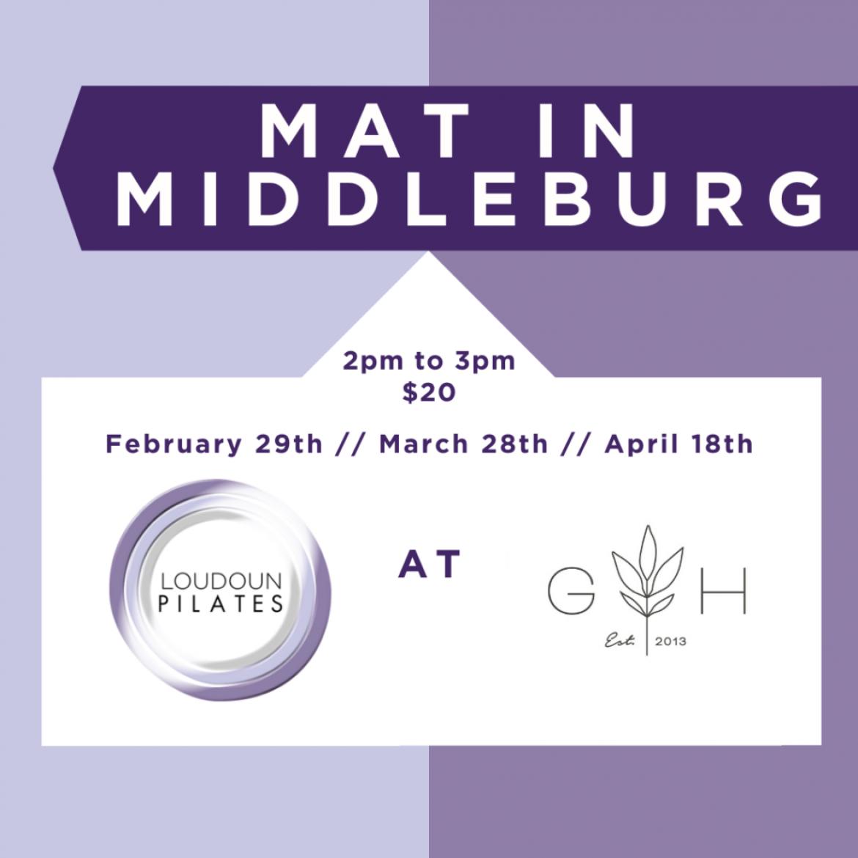 Multi-Level Mat in Middleburg