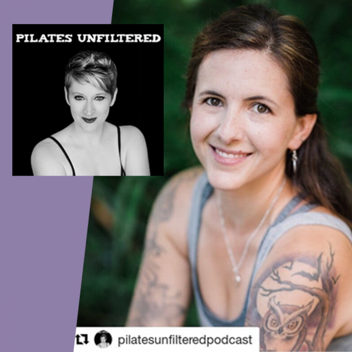 Pilates Unfiltered Podcast with Amy Hershey